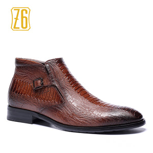 39-48 brand men boots Z6 Top quality handsome comfortable Retro leather martin boots #R5286-3