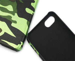 Army Camouflage Cases For Iphone 7 Case Military Camo Men Case Cover PU Leather+Acrylic Back Cover For Iphone 7 7 Plus Fundas