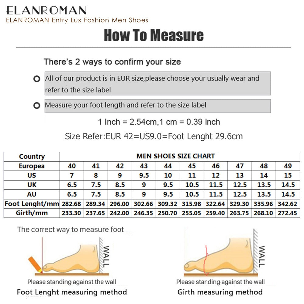 ELANROMAN Men Dress Shoes Luxury Brand New fashion Double Monk Strap Height Increase Handmade Ital Men Formal Shoes
