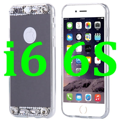 FLOVEME Bling Glitter Mirror Case For Apple iPhone 7 Plus 6 6S Plus 5 5S SE Cases Diamond Crystal Phone Cover For iPhone 7 Plus