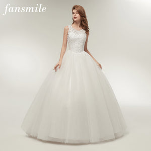 4cb9f66eb7f7d Fansmile Korean Lace Up Ball Gown Quality Wedding Dresses 2017 Alibaba  Customized Plus Size Bridal Dress