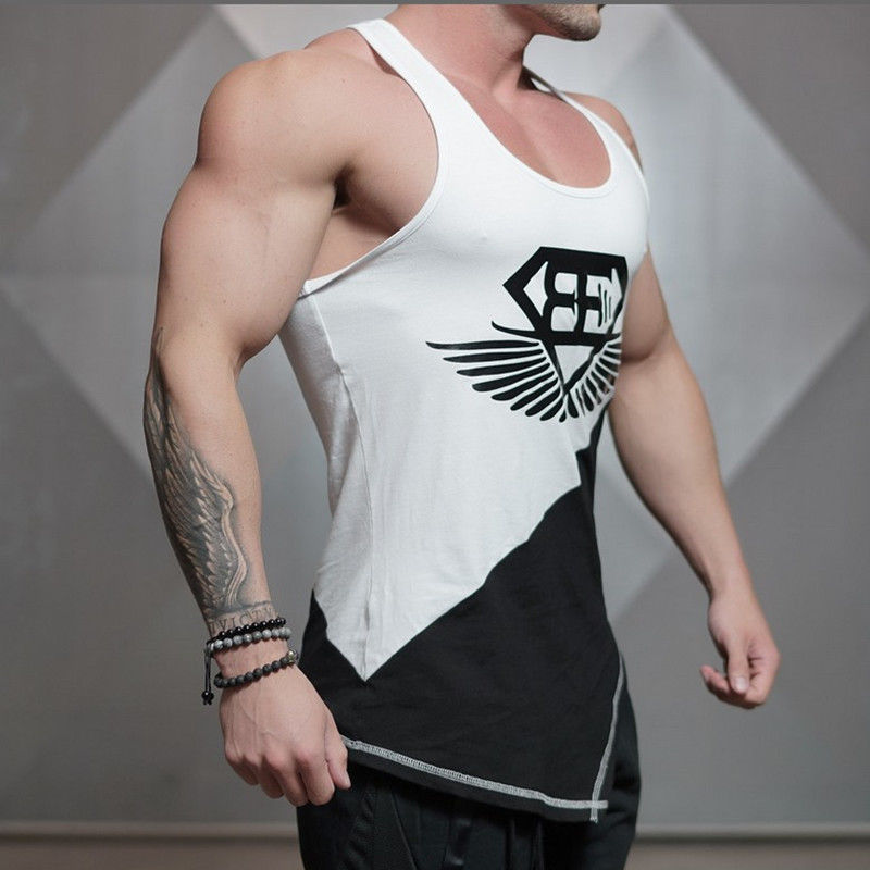 Fashion Fitness Men Tank Top Army Camo Camouflage Bodybuilding Stringers Tank Tops Singlet Brand Clothing Sleeveless Shirt