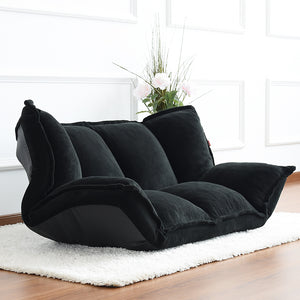 futon sofa bed. Floor Furniture Reclining Japanese Futon Sofa Bed Modern Folding Adjustable Sleeper Chaise Lounge Recliner For Living