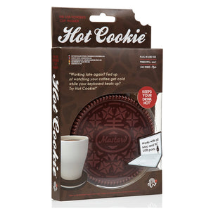 Free Shipping 1Piece Hot Cookie USB Powered Cup Tea Coffee Beverage Heater Mug Coaster Cup Mat Electronic USB Gadgets