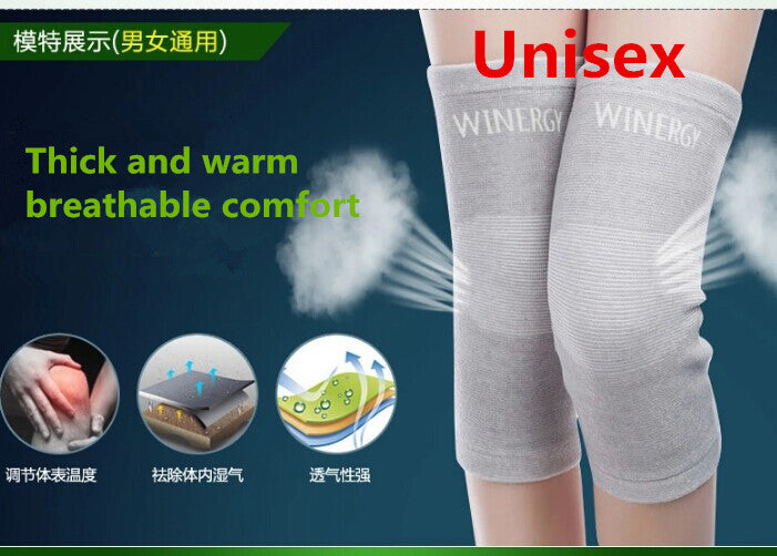Granville Nile unisex warm  knee Bandage elderly  cold legs thick charcoal breathable sports knee winter models free shipping