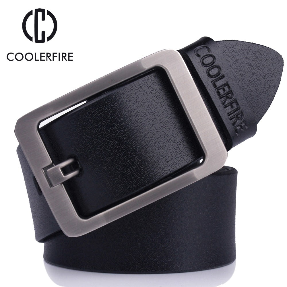 High quality men's genuine leather belt designer belts men luxury strap male belts for men fashion vintage pin buckle for jeans