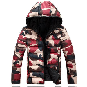 L12 2017 brand men's clothing winter jacket with hoodies outwear Warm Coat Male Solid winter coat  Men casual Warm Down Jacket