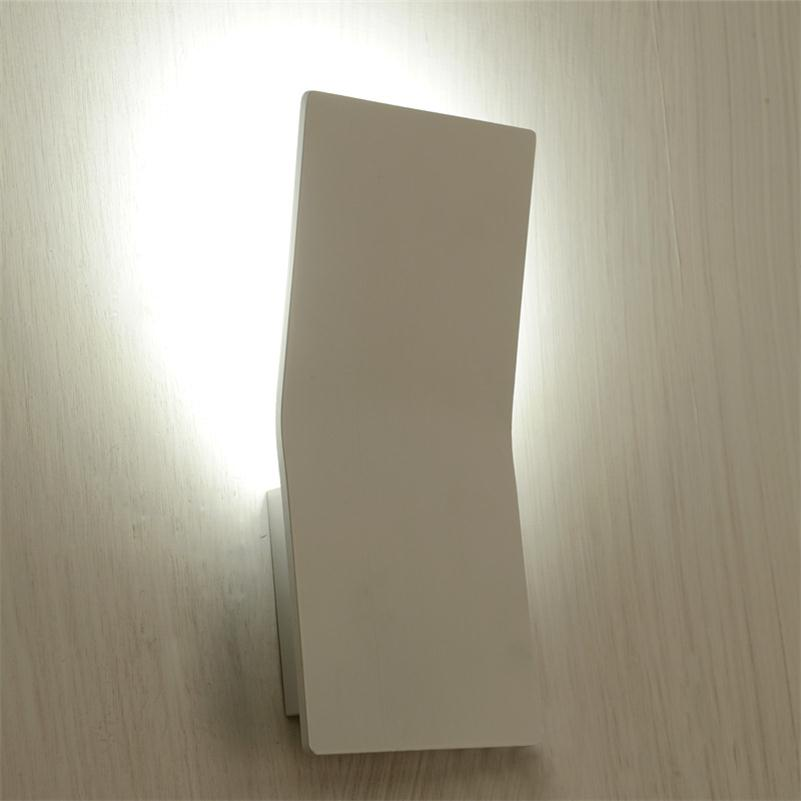 LED Indoor Wall Light  Surface Mounted Bedside Lamps Modern Aluminium Sconce Lighting For Living Bed Room LED Wall Luminaria 3W