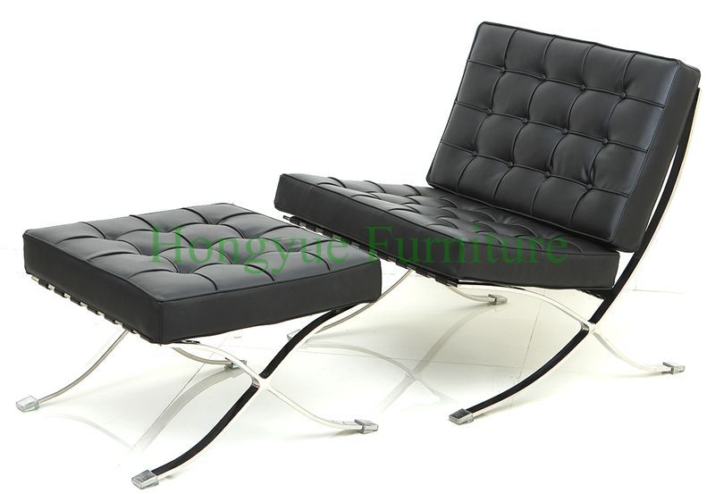 Modern leather barcelona chairs,living room chair furniture