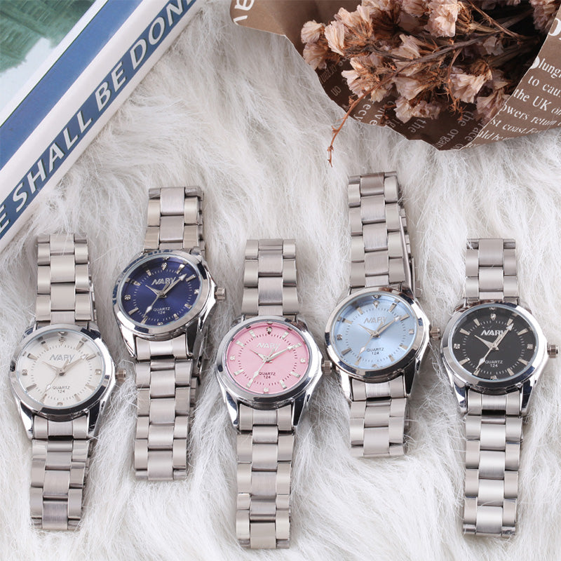 New Fashion watch women Rhinestone quartz watch relogio feminino the women wrist watch dress fashion watch reloj mujer dift box