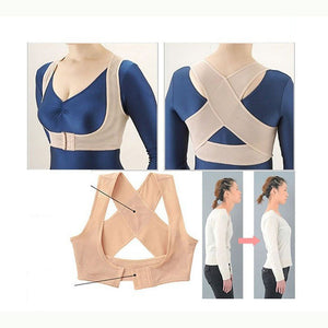New Therapy Correction Posture Back Shoulder Posture Corrector Back Support Brace Belt Adjustable Strap Bone Care