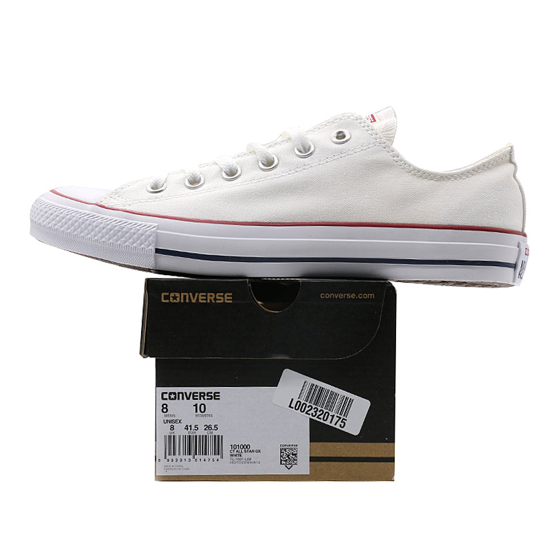 4ff1387f82 Original new Converse all star canvas shoes men's women unisex sneakers  classic Skateboarding Shoes white color free shipping