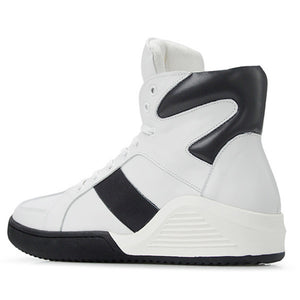 Real leather fashion casual footwear red White black male hightop tennis tall bambas Bieber High boot trainers shoe krasovki men