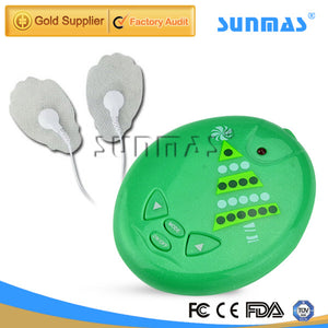 SUNMAS SM9058 Health Care Body Back Leg Muscle Pain Relief Massage Acupuncture Stimulator Tens Unit Pulse Massager