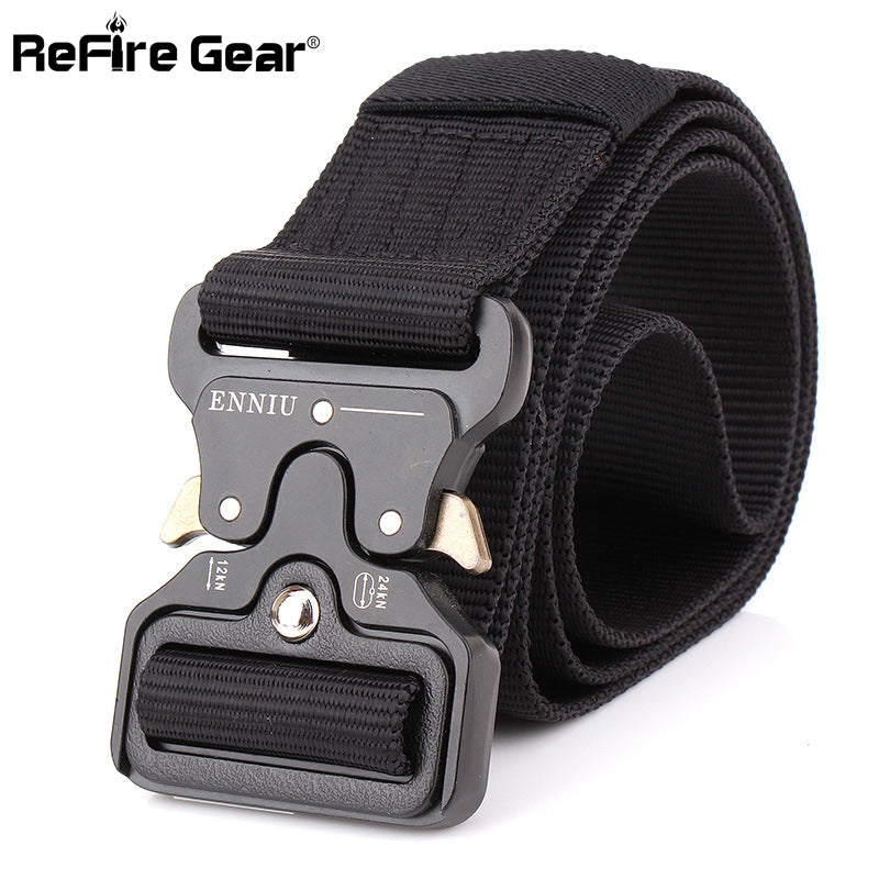 SWAT Military Equipment Knock Off Army Belt Men's Heavy Duty US Soldier Combat Tactical Belts Sturdy 100% Nylon Waistband 4.5cm