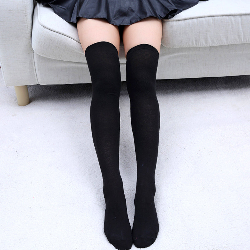 b6f9ec72d0e Sexy Fashion Women Girl Thigh High Stockings Knee High Socks