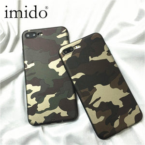 Sports Retro Super man Cases For iPhone 7 Case Army Camo Camouflage Soft silicone Coque Case For iphone 7 6 6s 8 Plus Fundas