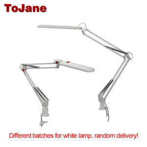 ToJane TG988 Desk Lamp Clip Office Led Desk Lamp Flexible Led Table Lamp Reading Led Light 3-Level Brightness&Color