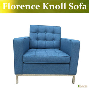 U-BEST high quality Florence Knoll Lounge Chair in fabric,modern design armchair,knoll relax chair living room furniture