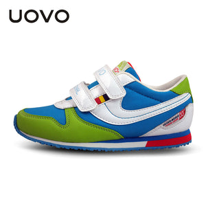 UOVO 2017 hit color fashion toddler children's shoes brand kids shoes school shoes for teen girls and boys size 25#-34#