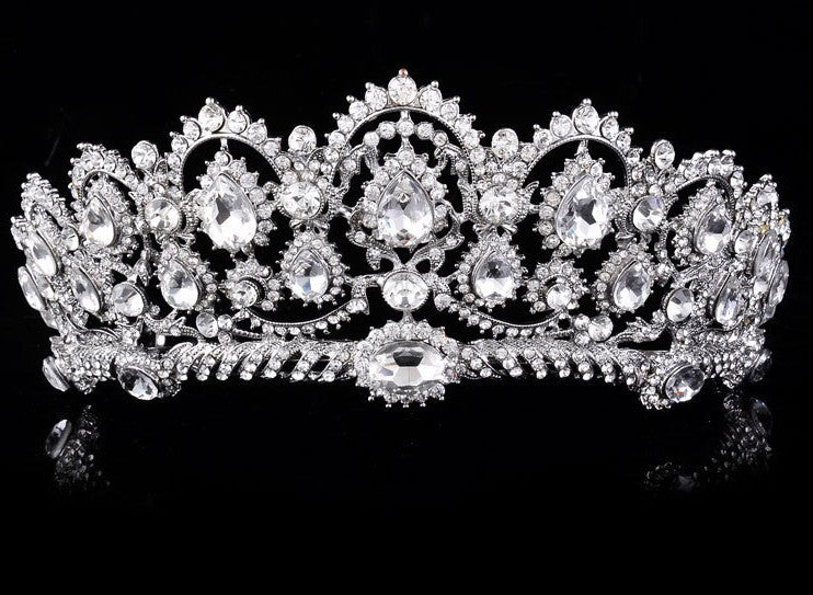 Vintage Tiaras Rhinestone Crowns Wedding Hair Accessories Rhinestones  Bridal Bridal Jewelry 2017 Head Wear Cheveux