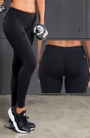 Women Yoga Pants Sports Exercise Tights Fitness Running Jogging Trousers Gym Slim Compression Pants Leggings Sexy Hips Push Up