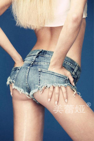 2017 New Sexy Vintage Mini Short Jeans Booty Shorts Cute Denim Short Hot Vestidos Sexy Club Party Erotic Clothings Bottom