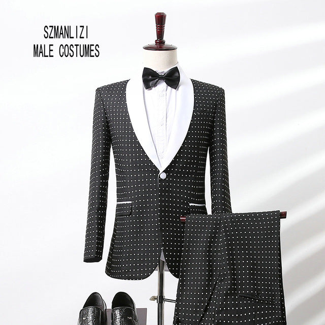 2017 New Arrival Mens Suits Groomsmen Double Breasted Groom Tuxedos Wedding Best Man Suit Prom Tuxedo For Men (Jacket+Pants+Tie)