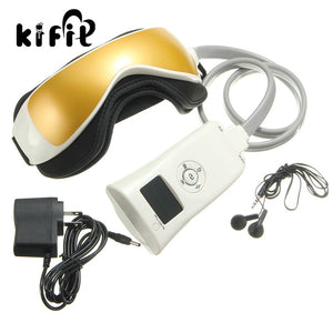 KIFIT Infrared Heater Electric Eye Health Magnetic Alleviate Fatigue Eye Care Relax Massager Forehead Magnetic Treatment