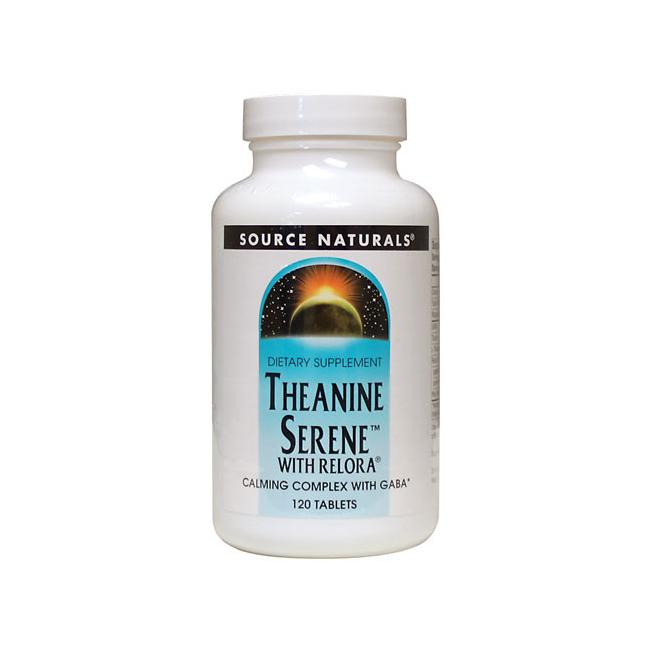Theanine Serene with Relora - Source Naturals