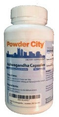 Cápsulas de Ashwagandha  (Withania Somnifera) - Powder City