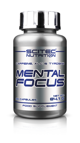 Mental Focus 90 Cáps- Scitec Nutrition