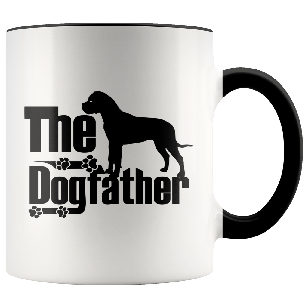 Bullmastiff Lover Gifts The Dogfather 11oz Assorted Coffee Mug