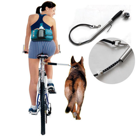 Hands-Free Dog Bike Leash
