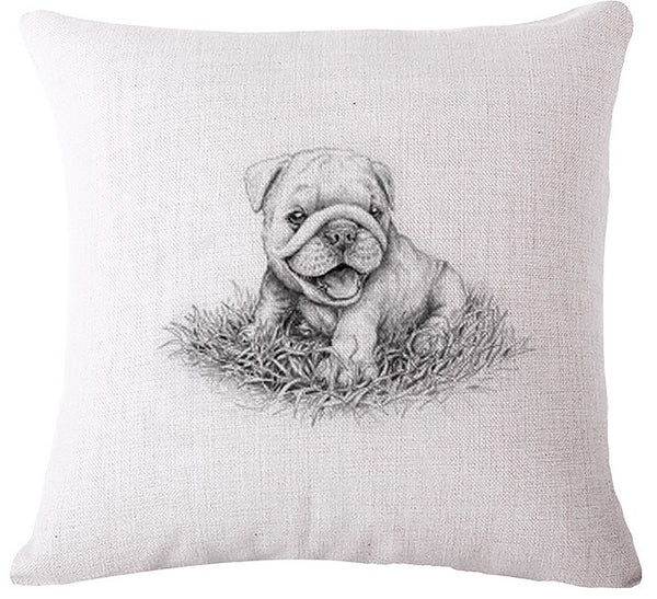 FREE Bulldog Pillow Covers (Just Pay Shipping & Ins)