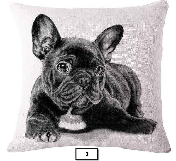 FREE French Bullog Pillow Covers (Just Pay Shipping & Ins)