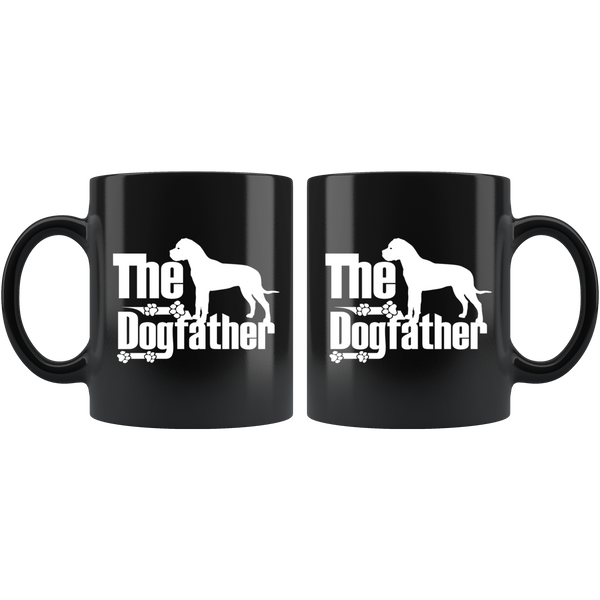 Bullmastiff Lover Gifts The Dogfather 11oz White Coffee Mug