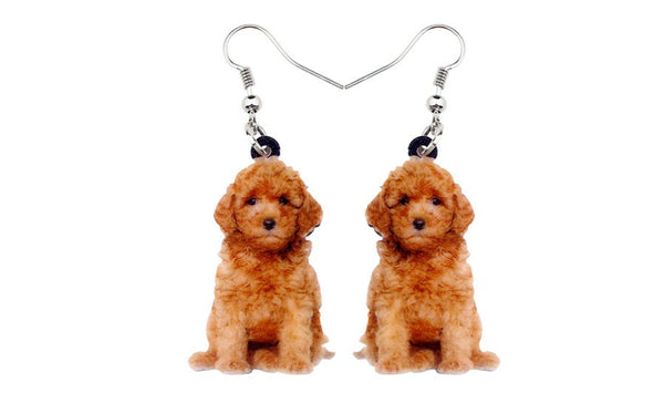 Goldendoodle Jewelry - Goldendoodle Necklace- Goldendoodle Lover - Goldendoodle Earrings - Goldendoodle Jewelry Set - FREE Shipping