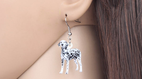 Dalmatian Jewelry - Dalmatian Necklace- Dalmatian Lover - Dalmatian Earrings - Dalmatian Gifts - Dalmatian Jewelry - FREE Shipping
