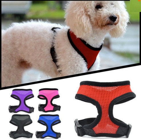 Compawions™ Soft Mesh Harness - Free Shipping