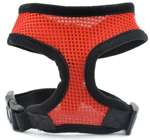 Soft Mesh Dog Harness - Free Puppy Training Fast Track System Included