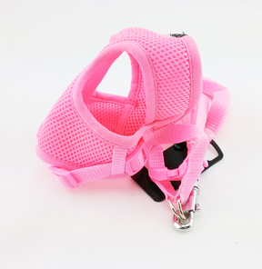 Soft Air Mesh Harness AND Matching Leash - Small Dogs