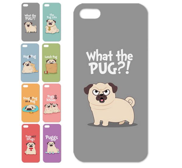 PUG THUG LIFE iPhone Cases - FREE Shipping!