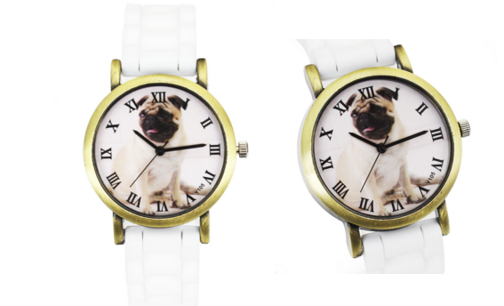 Pug Watches - FREE Shipping