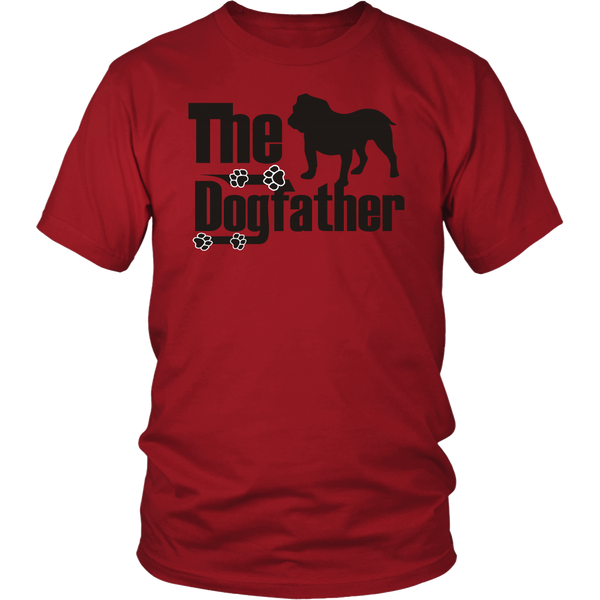 The Dogfather - Bulldog T-Shirt