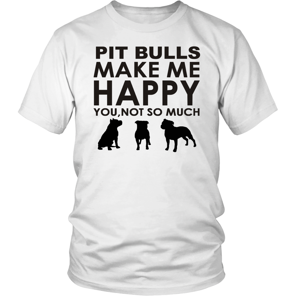 Pit Bulls Make Me Happy You, Not So Much