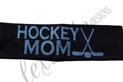 Hockey Mom Headband - LexiKateDesigns