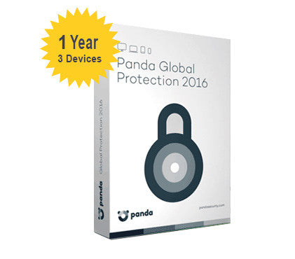 Panda Global Protection 2016 - 1-Year 3-Devices