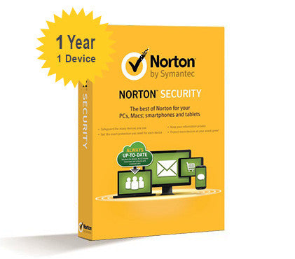 Norton Security Standard - 1-Year 1-Device - Global