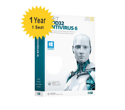 ESET NOD32 Antivirus Home - 1-Year 1-Seat